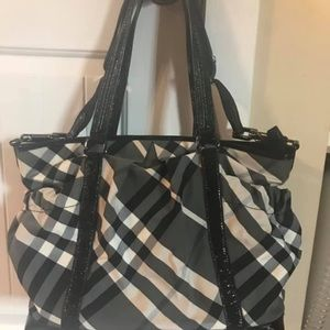 Authentic Burberry Diaper Bag